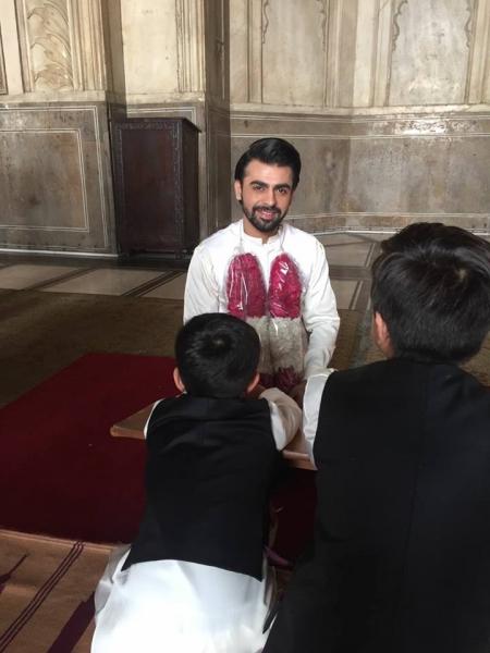 farhan-saeed-nikah Urwa Hocane Farhan Wedding Pics| Nikah Walima Dholki Barat