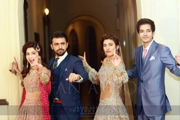 farhan-saeed-urwa-hocane-1 Urwa Hocane Farhan Wedding Pics| Nikah Walima Dholki Barat