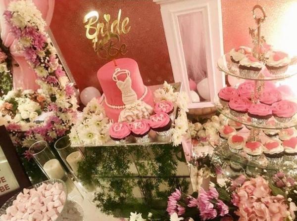urwa-bridal-shower-pics Urwa Hocane Farhan Wedding Pics| Nikah Walima Dholki Barat