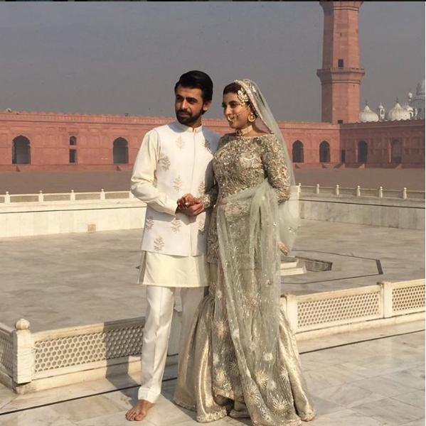 urwa-farhan-wedding-nikkah Urwa Hocane Farhan Wedding Pics| Nikah Walima Dholki Barat
