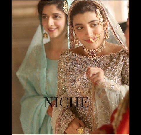 urwa-hocane-on-nikah Urwa Hocane Farhan Wedding Pics| Nikah Walima Dholki Barat