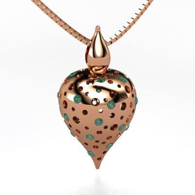 14K-Rose-Gold-necklace Awesome Gold Necklaces Collection For Women