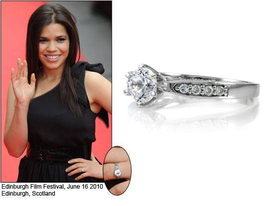 America Ferrera Engagement Ring