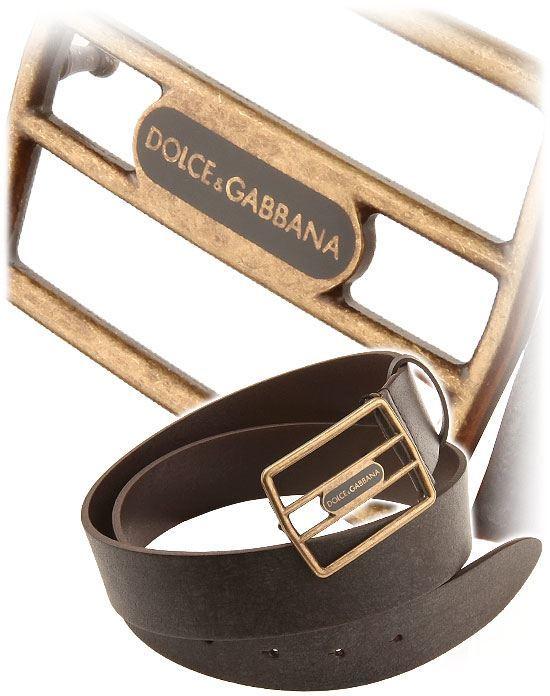 Cool D&G Leather Belt