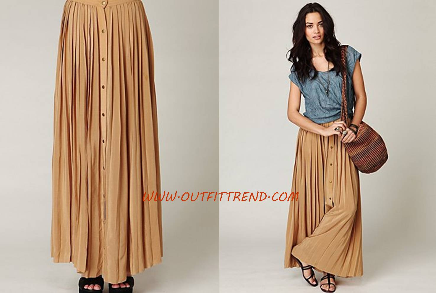 Cool Long Maxi Skirt