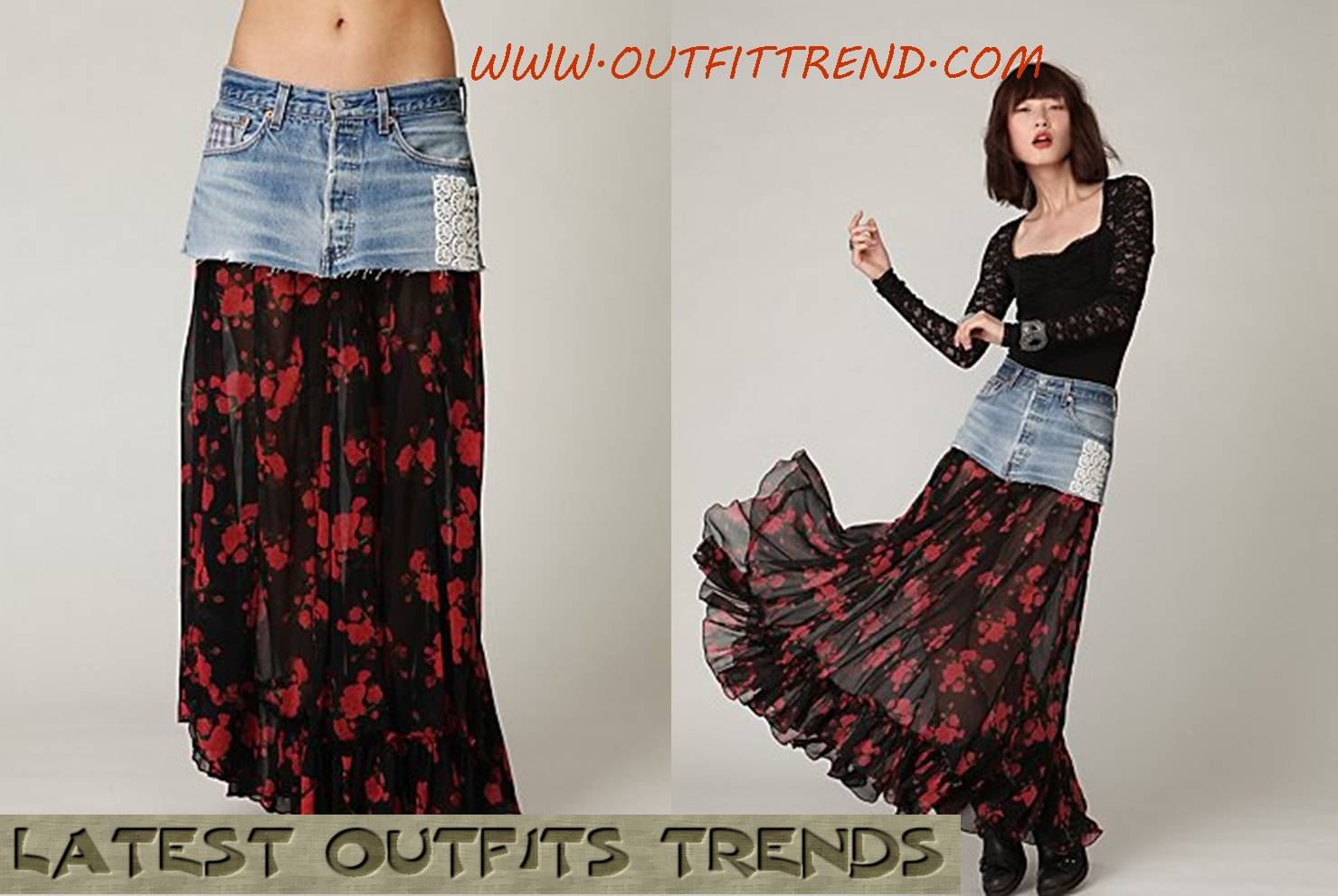 Stylish And Trendy Maxi Skirts For Women