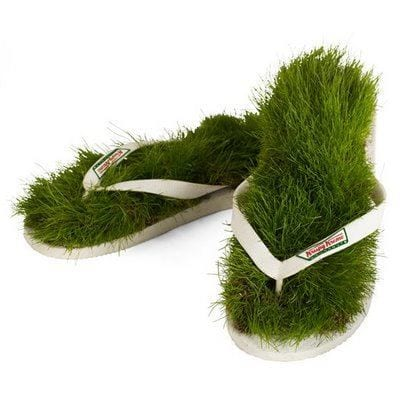 Crazy-Grass-Shoes These 30 World Most Unique and Crazy Shoes Will Blow Your Mind