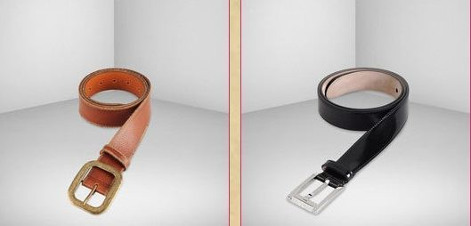 D&G Brown Leather Belt