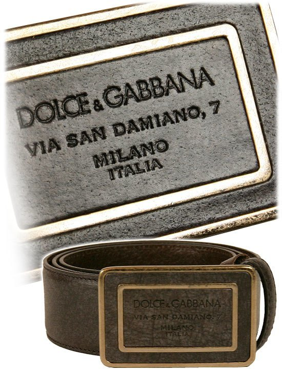 D&G Mens Belt