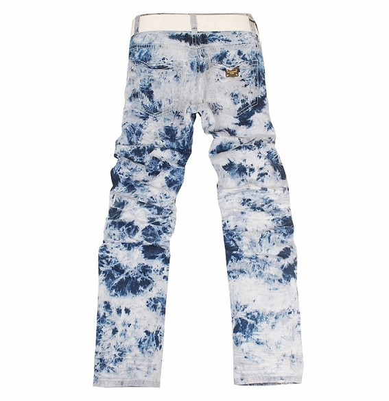 D&G tie dyed style jeans