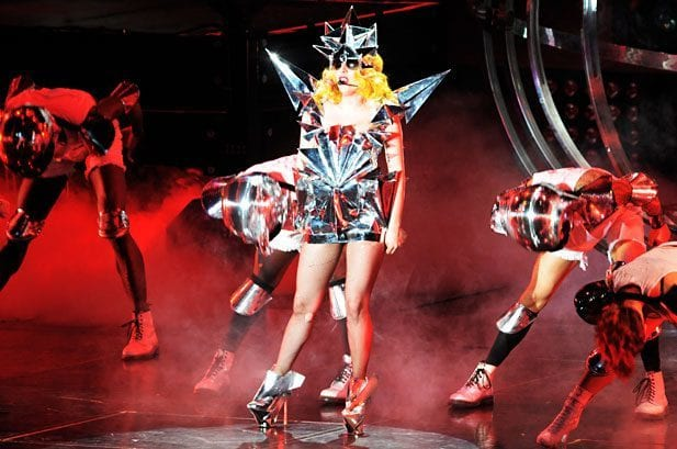 Funky Outfit Lady Gaga