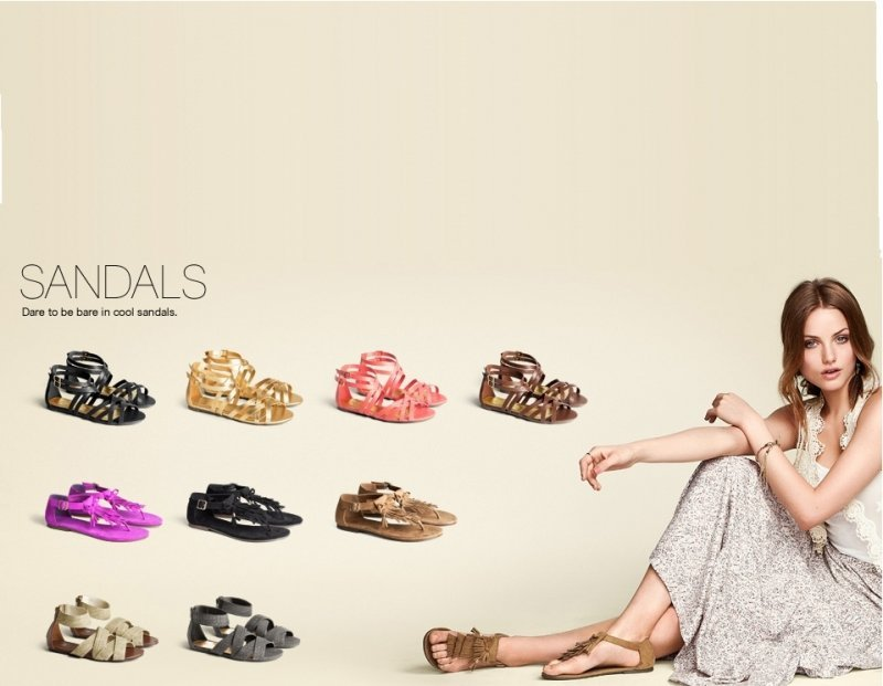 H&M Flat Shoes For girls