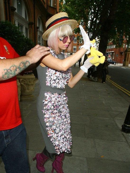 Lady Gaga Funky Dress