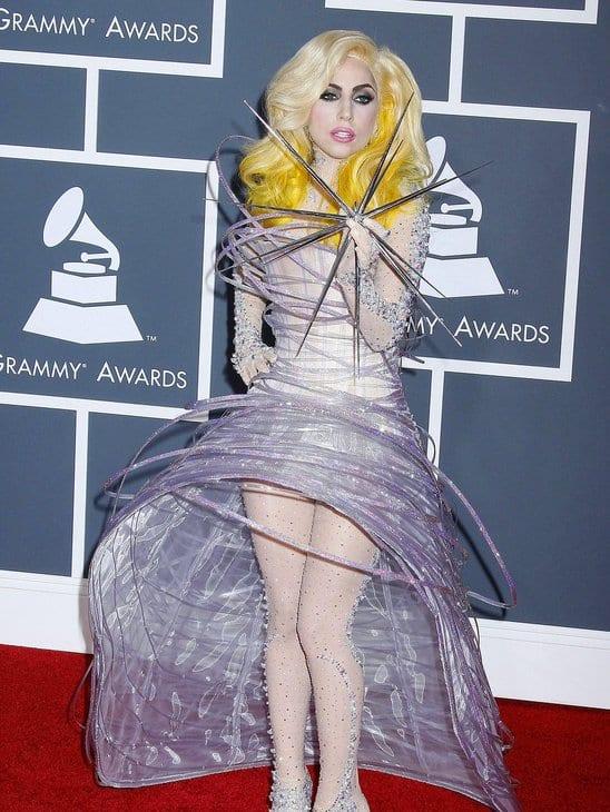 Lady Gaga unique Costume