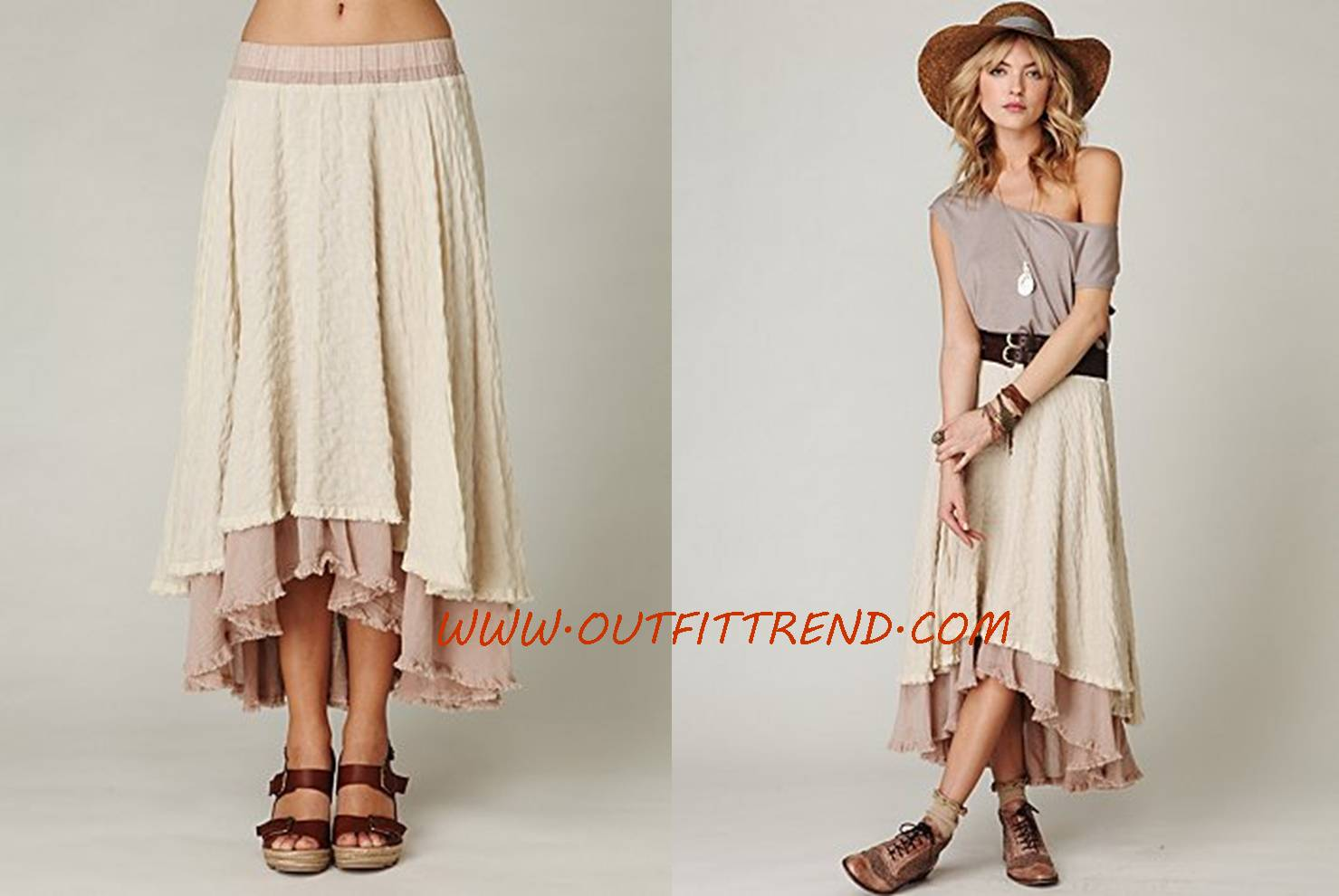 Latest Maxi Skirts