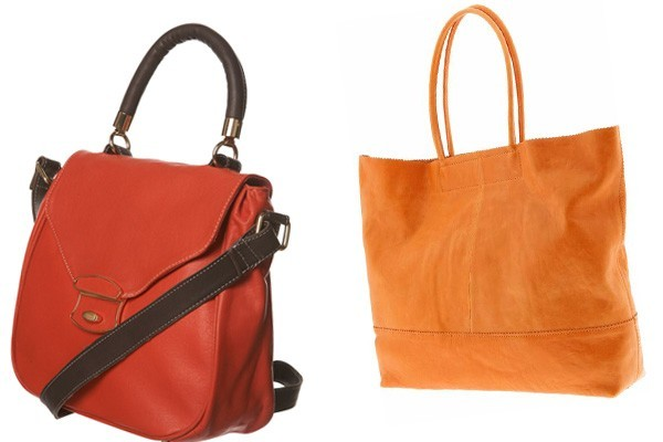 Leather hand bags for girls