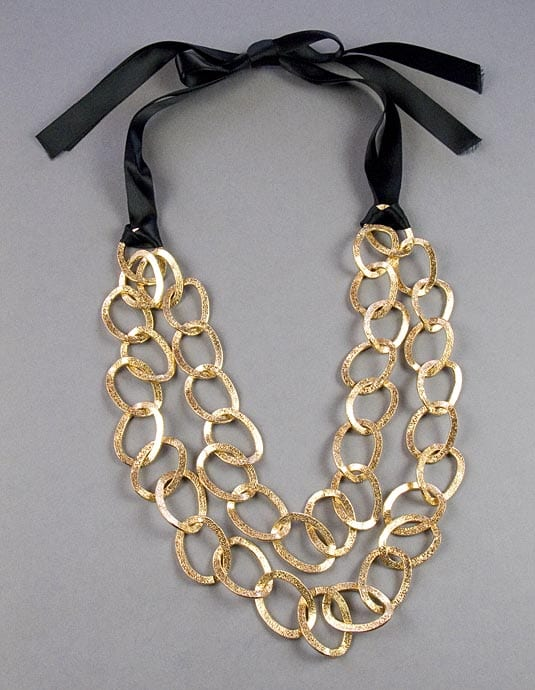Long Chain Gold Necklace