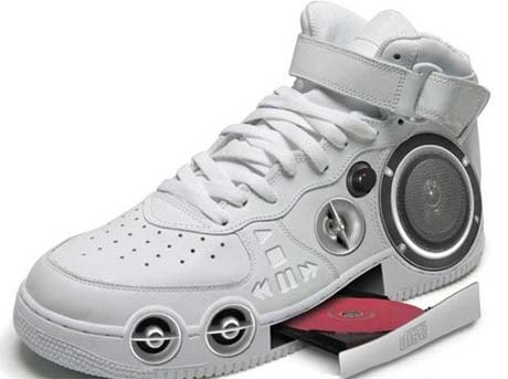 Music-Player-Shoes These 30 World Most Unique and Crazy Shoes Will Blow Your Mind