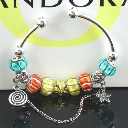 Pandora star and beads Bracelet