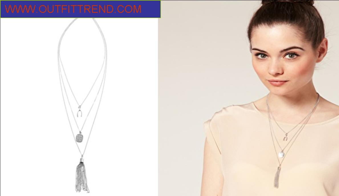 River Island Pendant Necklace