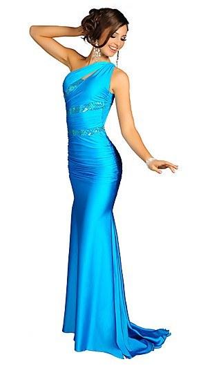 Stylish One Shoulder Prom Dress Atria