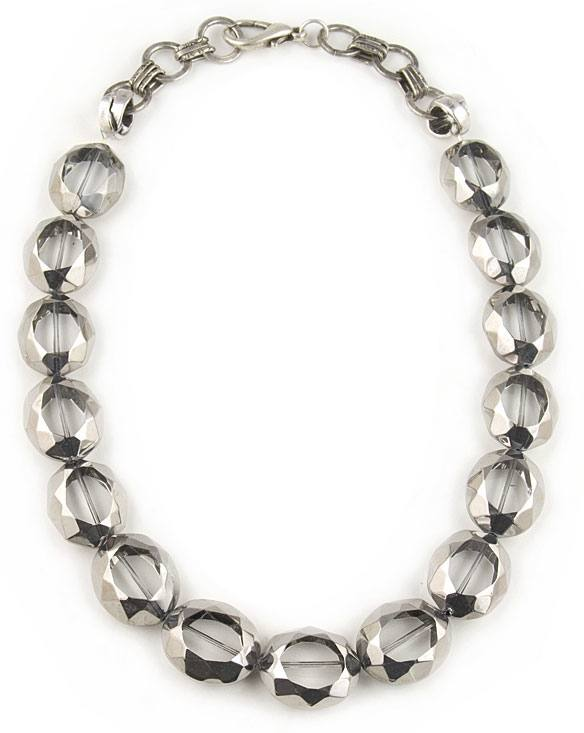 Stylish Silver necklace