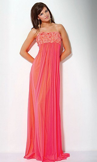 Stylish Strapless Jovani Prom Gown