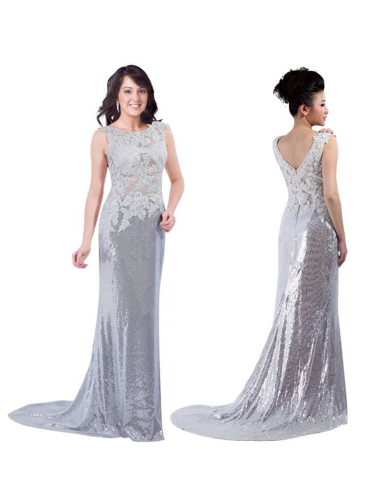 Stylish prom gown