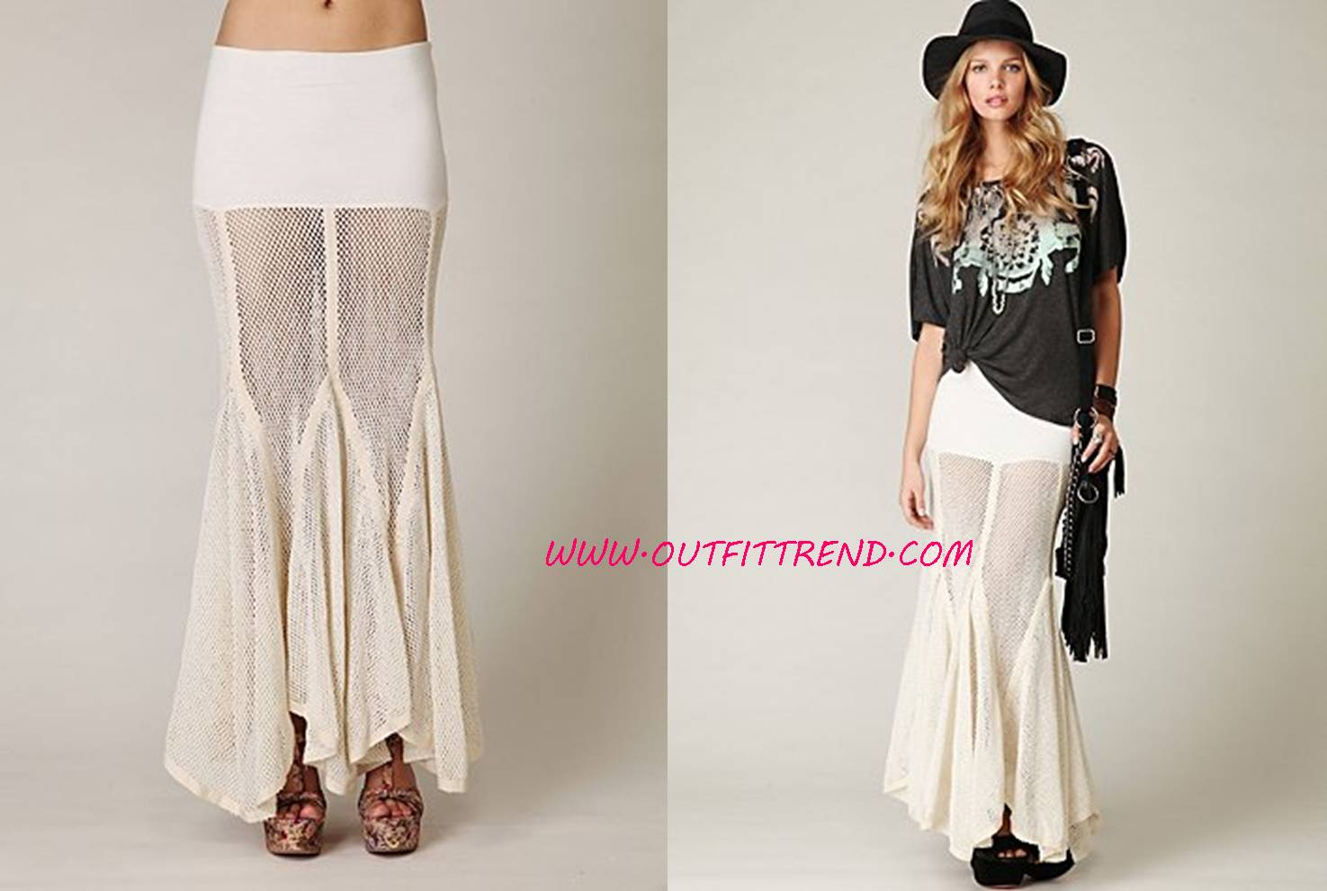 Trendy-Maxi-Skirt Stylish And Trendy Maxi Skirts For Women
