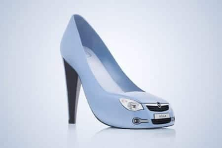 Unique-car-shoes These 30 World Most Unique and Crazy Shoes Will Blow Your Mind
