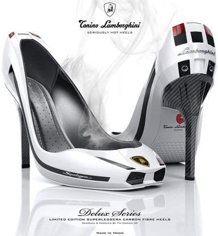 Unique-lamborginni-shoes These 30 World Most Unique and Crazy Shoes Will Blow Your Mind