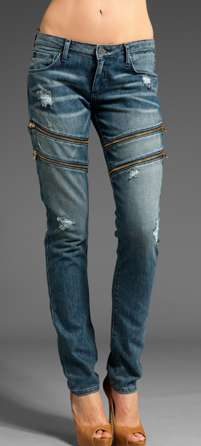 Zipper-Jeans Funky Jeans for Girls - 15 Swag Jeans for Girls