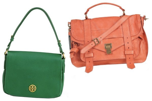 colorfull women leather handbags