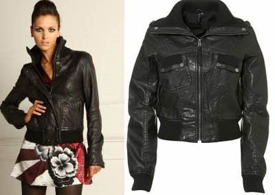 designers-leather-jackets Stylish Leather Jackets Outfits For women
