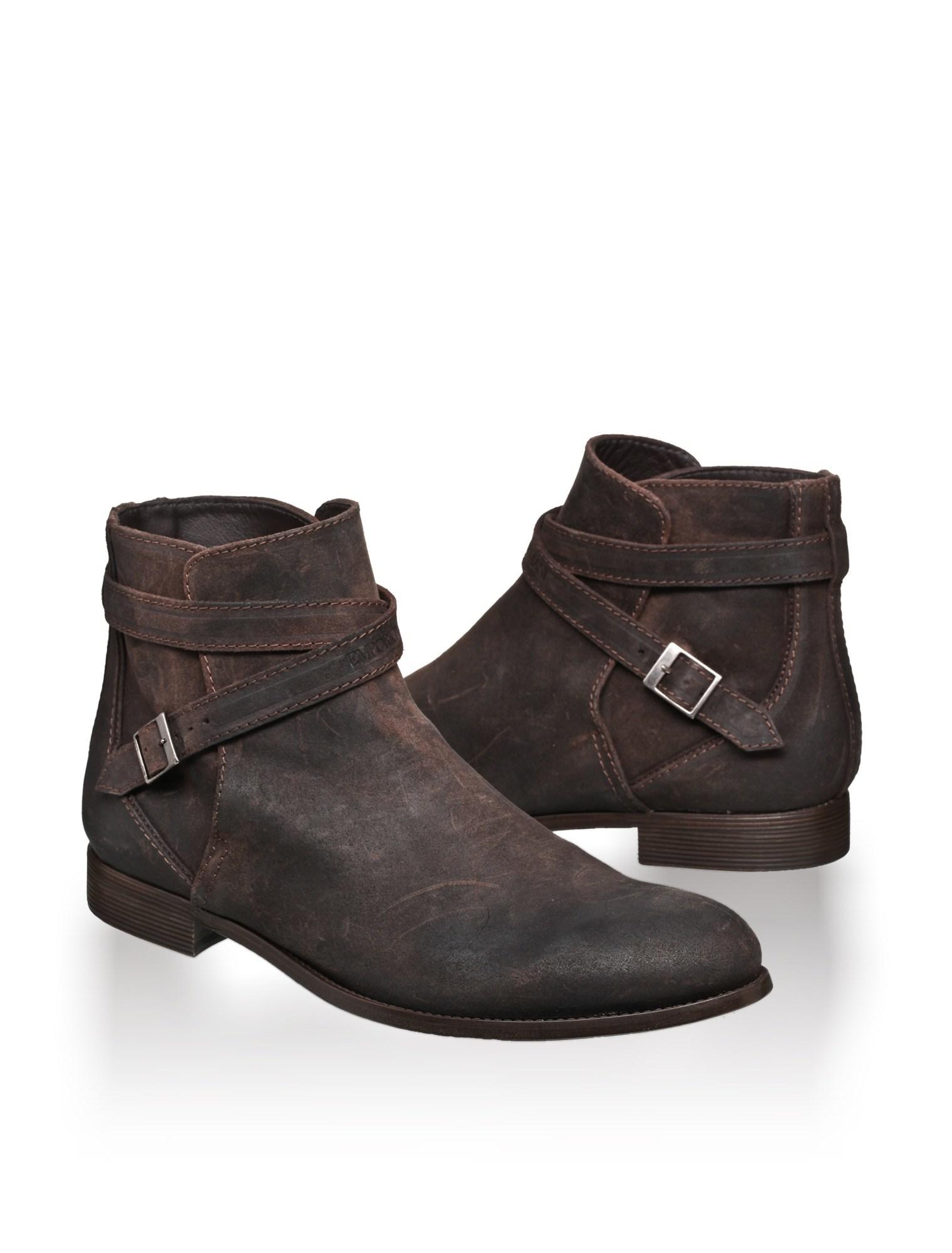 emporio armani boots