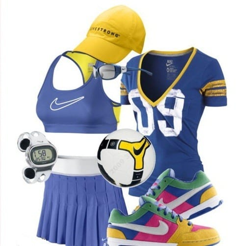 funky nike outfits women