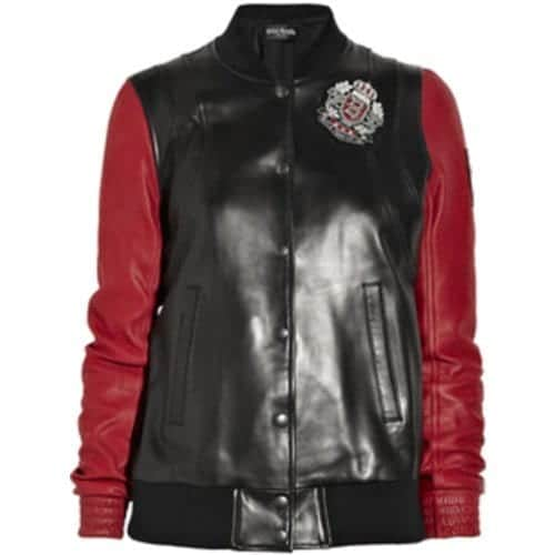 girls-biker-leather-jacket Stylish Leather Jackets Outfits For women