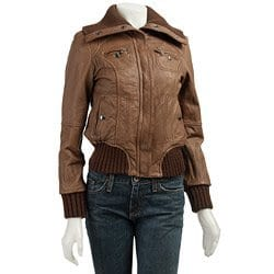 girls-leather-jacket Stylish Leather Jackets Outfits For women