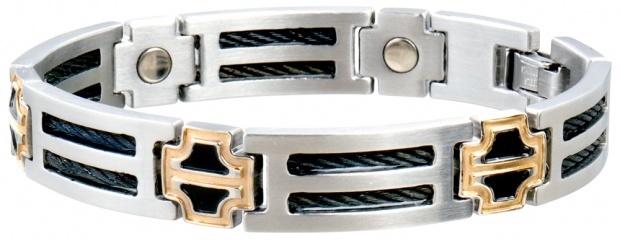 sabona Black Cable Magnetic bracelet