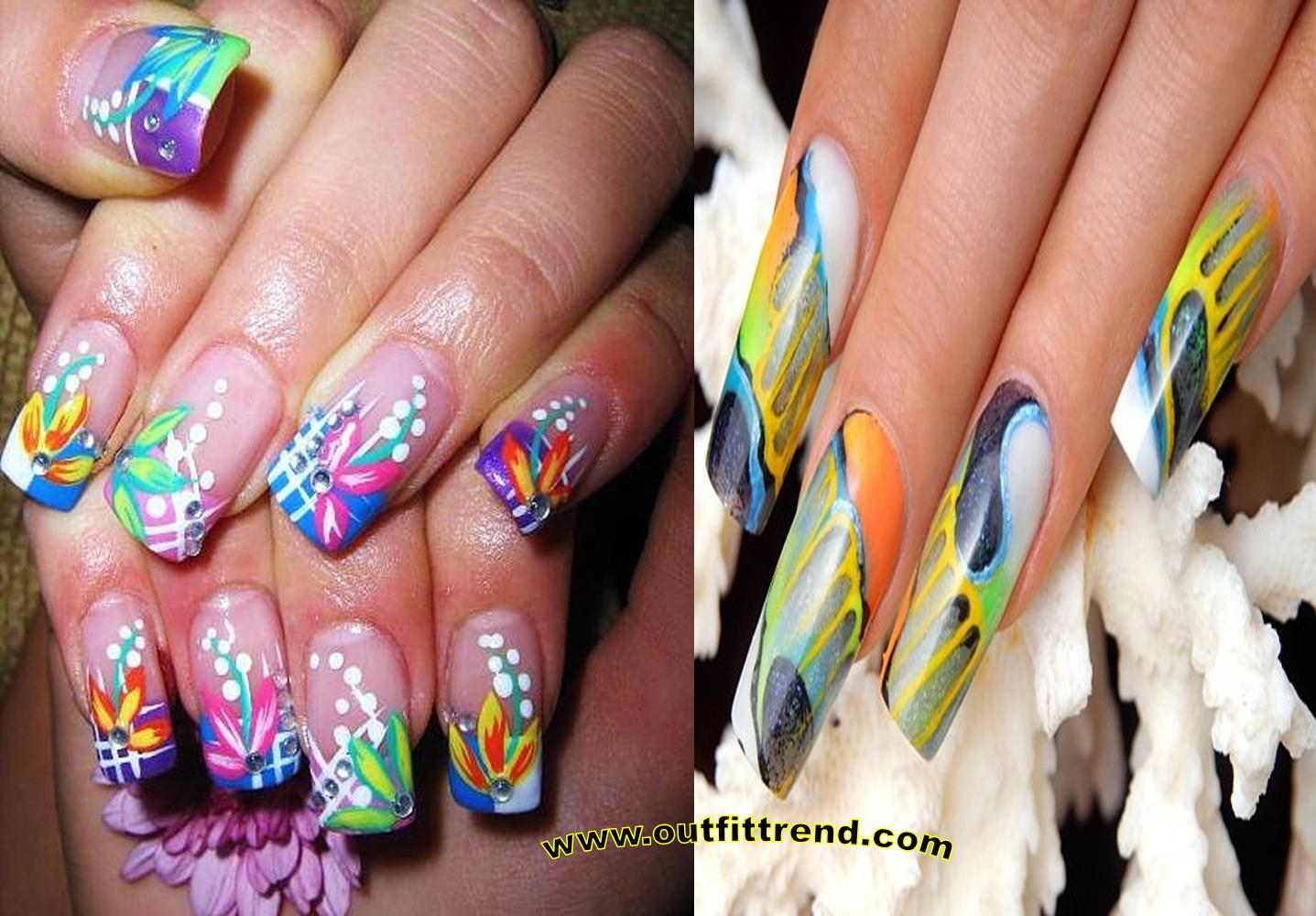 Amazing nail art for springsummer 2018 prinsesfo Image collections