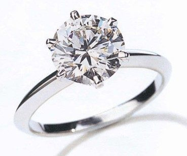 trendy engagement ring
