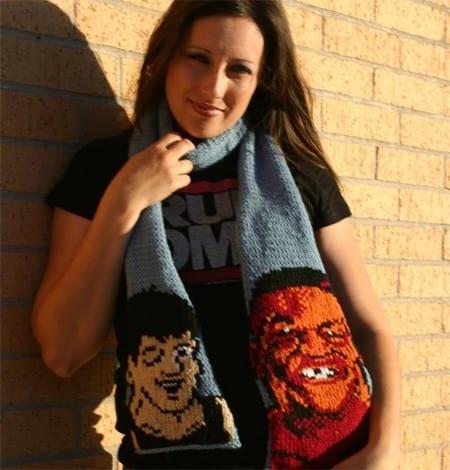 unusual scarf for women