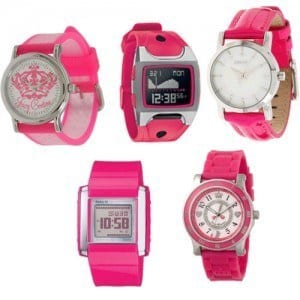 Amazing-Watches-For-Teeag-Girls Trendy Pink Watches For Teen Girls and Kids