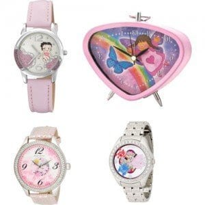 Baby-Girls-Pink-Watches Trendy Pink Watches For Teen Girls and Kids