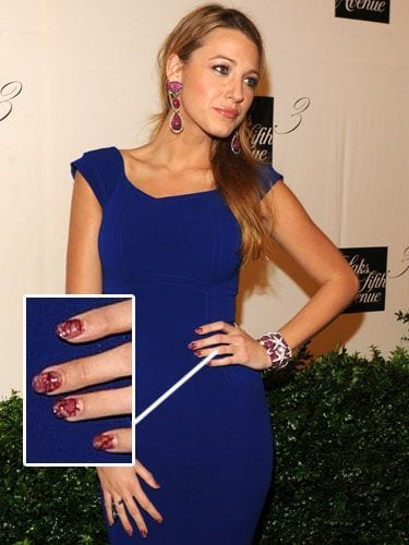 Celebrities-Minx-Nail-Fashion Celebrities Nails Fashion and Unique Nail Designs