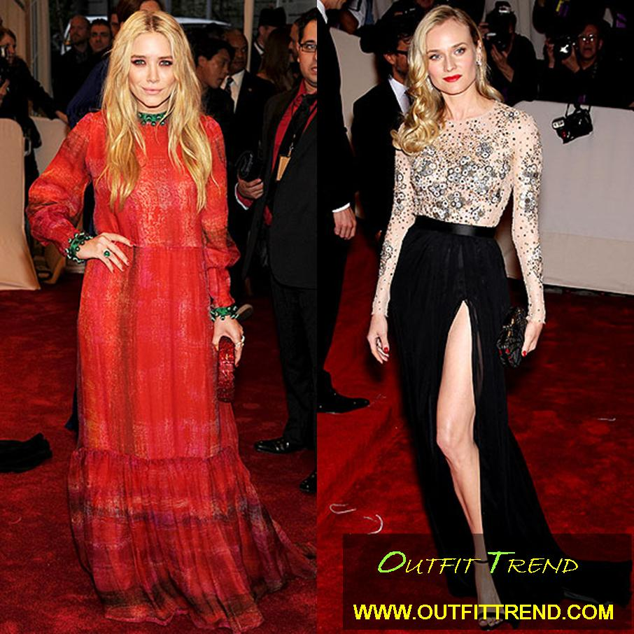 Celebrities Outfits at Met Gala 2011