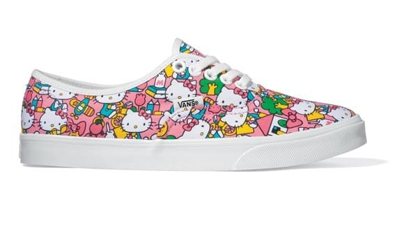 Cool Hello Kitty Vans Sneakers