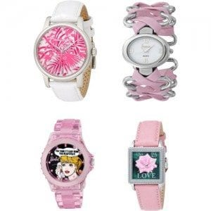 Cool-Watches-For-Teenage-Girls Trendy Pink Watches For Teen Girls and Kids