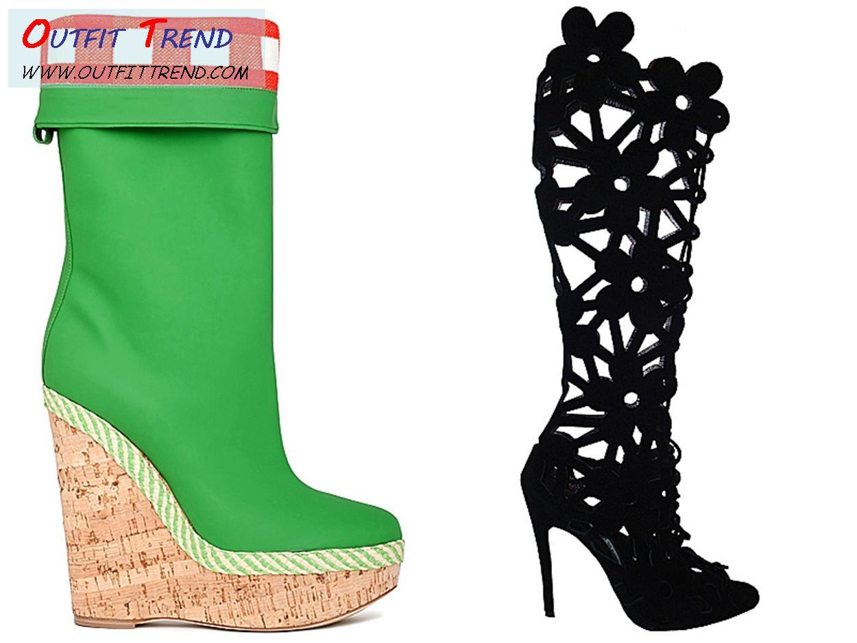 DG-Women-Boots Best Summer Footwear Trends for Women - Designers Shoes