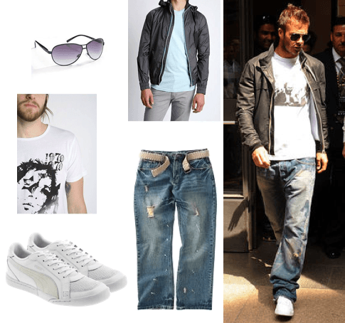 David-Beckham-Casual-Outfits David Beckham Casual Outfit Style - Celebrities Outfit Ideas